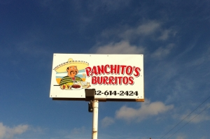 Fine Dining in the Oil Field: Panchito's Burritos