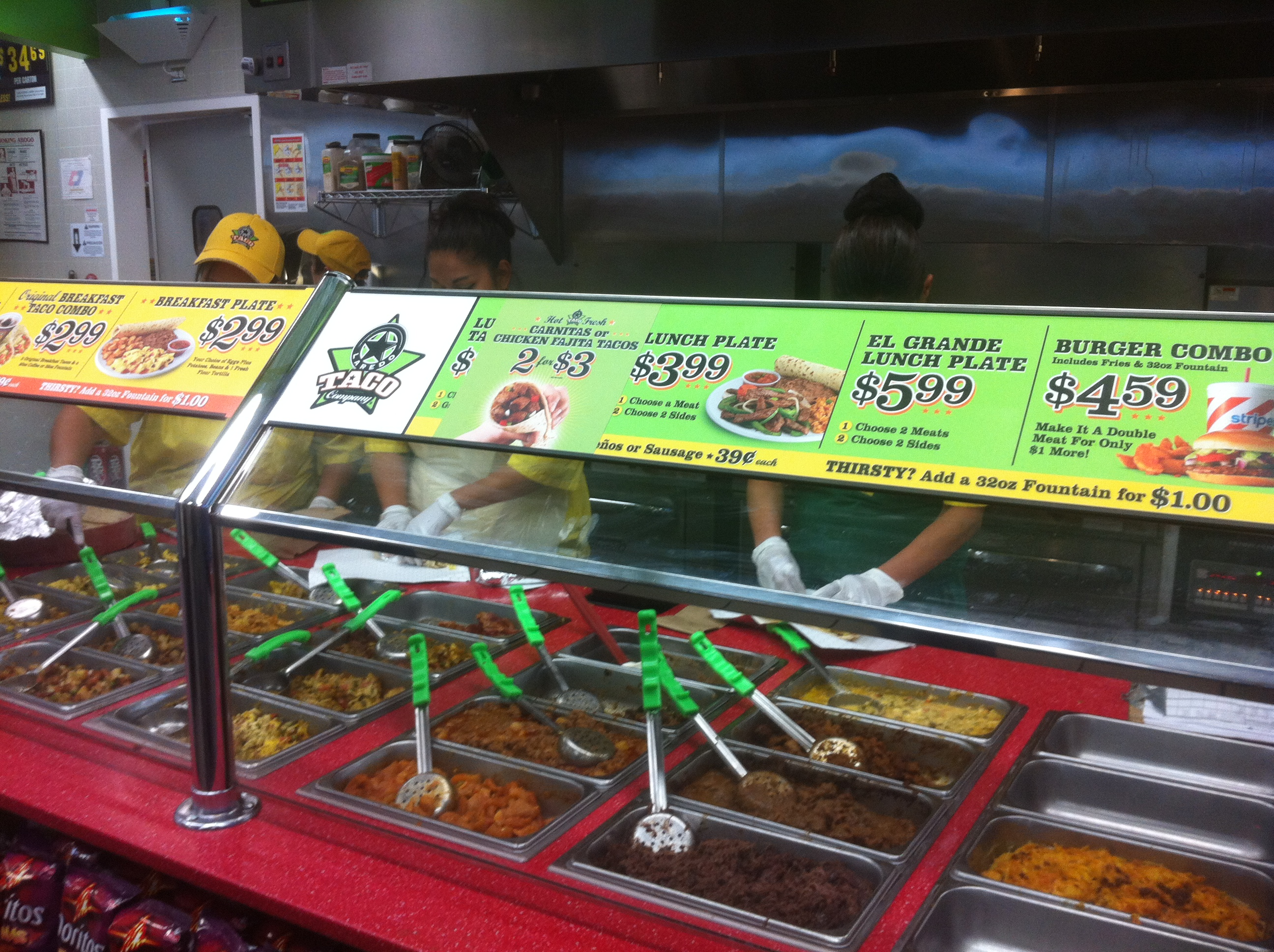 Stripes Gas Station Near Me >> Gas Station Tacos Fine Dining In The Oil Field Two