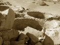 View of the kivas - photo by GG