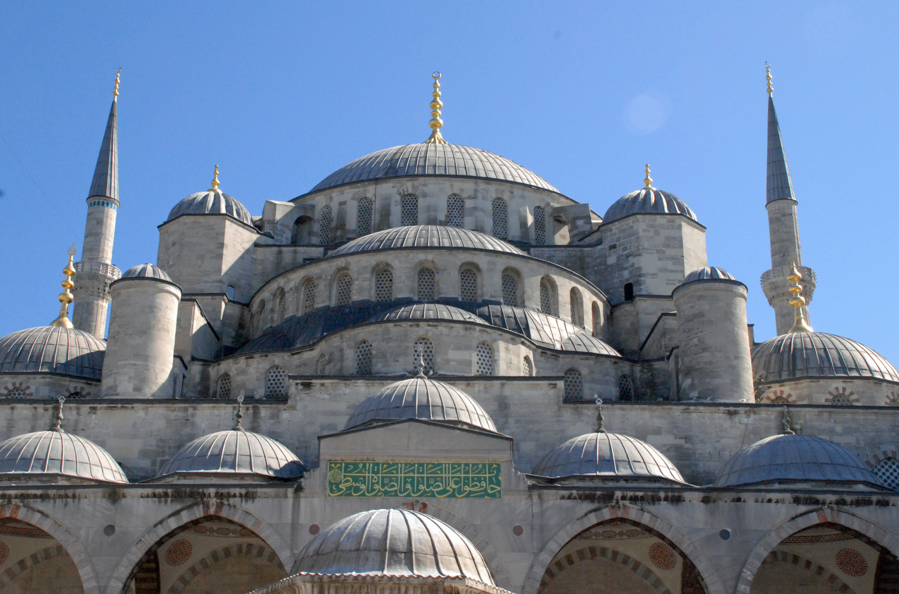 "The Sultanahment ""Blue"" Mosque in Istanbul 