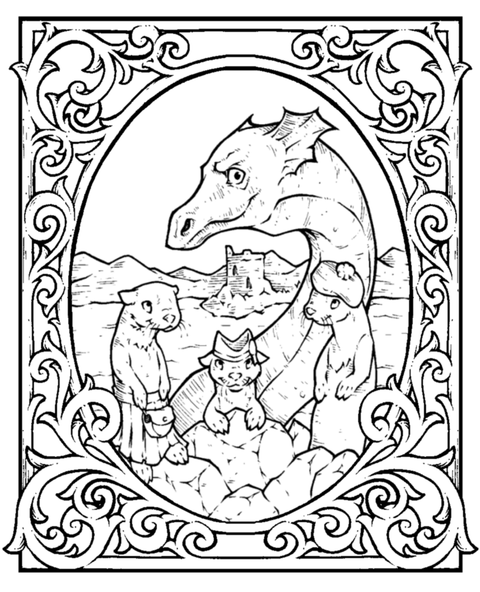 Uncategorized Loch Ness Monster Coloring Pages 97 ideas loch ness monster coloring pages on gerardduchemann com gila page free printable fairy tales fairly told two different girls