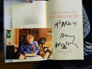 Ray Bradbury, and the dyslexic daughter