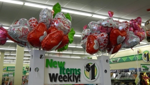 Balloons are a nice choice, and we're running out of helium. Get them while you can.