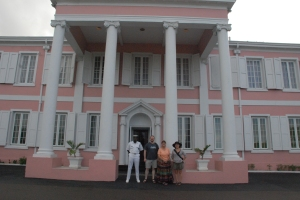 Bahama Government House with Jeff, Paperskater, and myself.