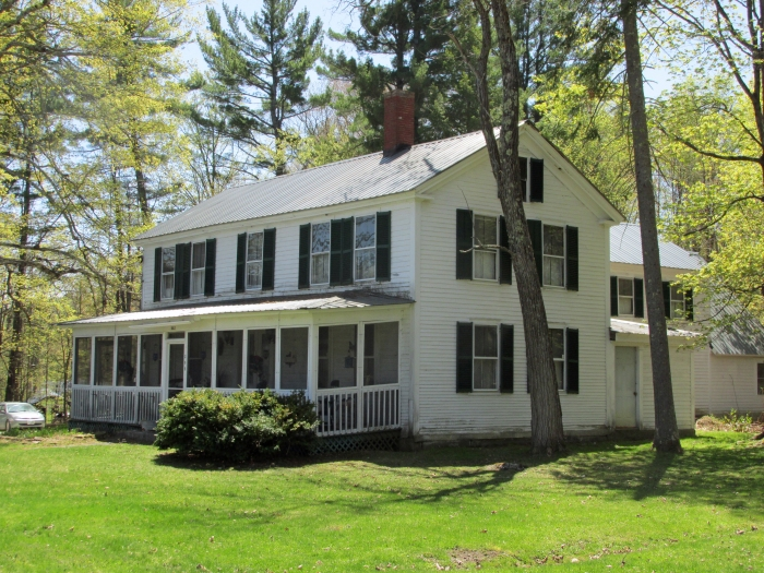 This nearby home was once lived in by Pierce and his wife Jane.  She did not approve of her husband's family (they had run a tavern!), so eventually they moved to Concord.
