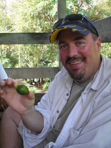 Me with a green betel nut