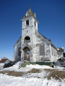 The Last Lonely Church in northern North Dakota
