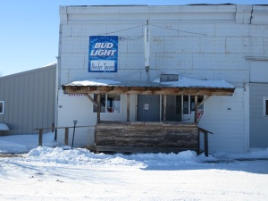 The only business in Fortuna, ND. Very popular.