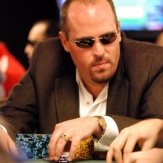 Author at the WSOP