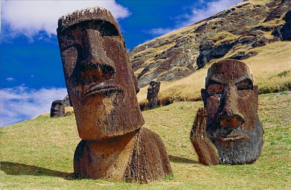 Skeptical Moai is Skeptical  Friday Fun Flick!