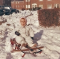 ...not enjoying a DC snowfall at all!  I later learned to enjoy the snow.