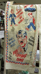 ...and Pops crying towel.  Tempting to put aside for Father's Day.