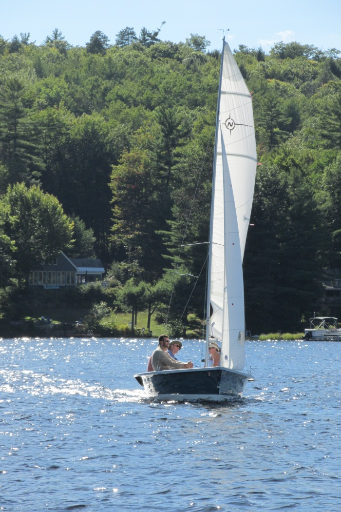Sailboats have right of way, so it takes careful boating skills to avoid them!  Not every sailboat captain is experienced.