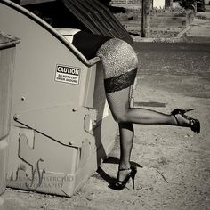 Victoria's Secret?  The dumpster.