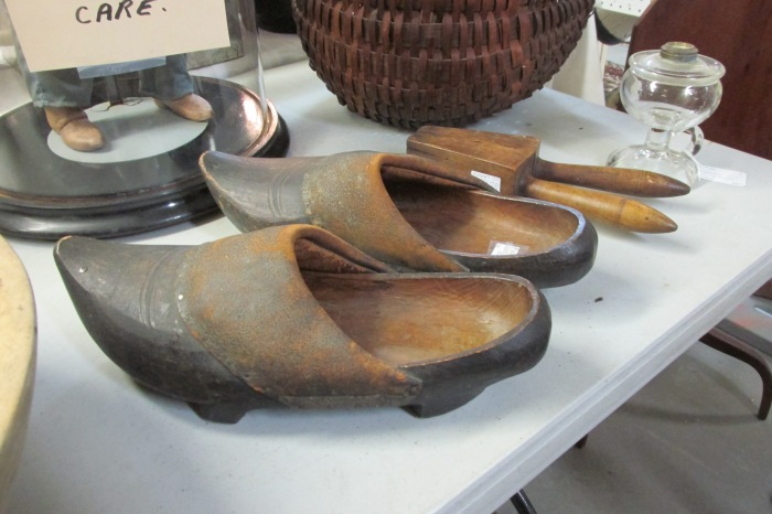 real wooden shoes