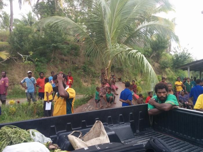 Preparing for gemstone hunting in PNG