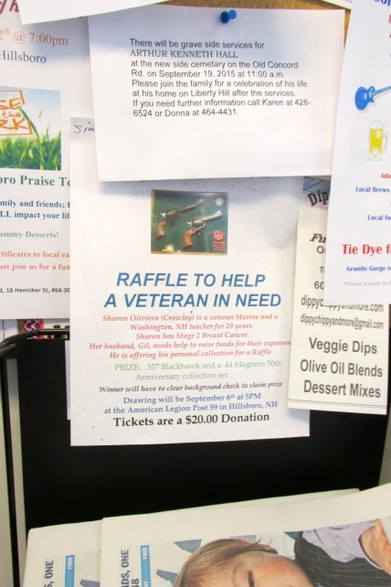 As part of the Live Free or Die tradition, there is a raffle for some really nice guns.  You do have to pass a background check.
